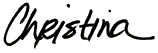 Christina Ambubuyog Signature