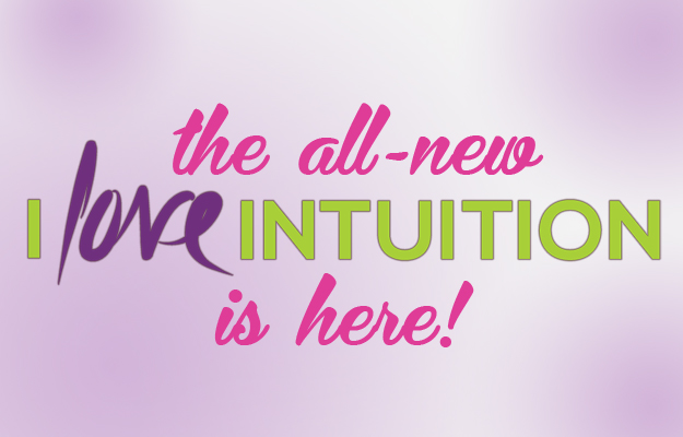 Holy Mary Mother, the all-new I LOVE INTUITION WEBSITE is here!