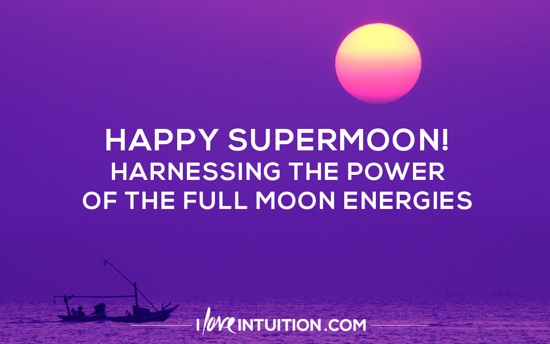 Harnessing the Power of the Full Moon Energies